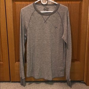 Gray long sleeved shirt